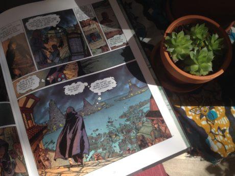 Le Déserteur, l'une des premières bandes dessinées de Kris, réalisée avec Obion et publié en 2003 chez Delcourt.