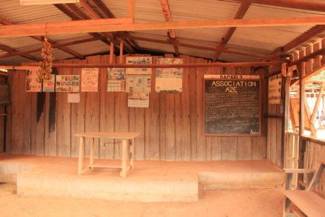 La salle de réunion du village de Dagani - 230715